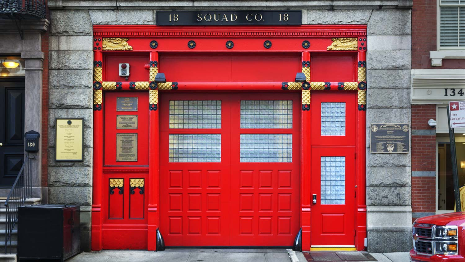 Custom Presidential FDNY Squad Co. 18 Full Front Vertical