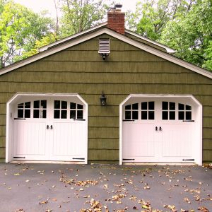 (2) EU 505 Athens VG 16 lite EU top handles and rings Green house garage