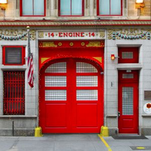 Custom Presidential FDNY Engine 14 Full Front